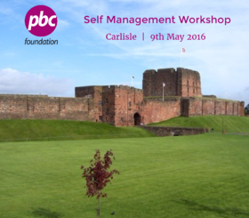 Self Management Workshop | Carlisle | 9th May 2016