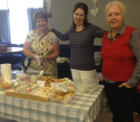 Peebles coffee morning raises £600 for PBC Foundation