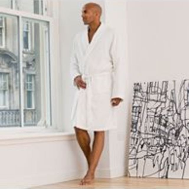 Gents bathrobe