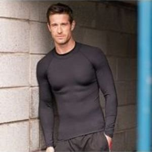 Male long sleeve base layer