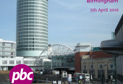 Meeting in Birmingham | April 5th, 2016
